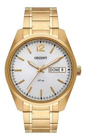 Relógio Orient Masculino Dourado Mgss2009 S2kx Bh