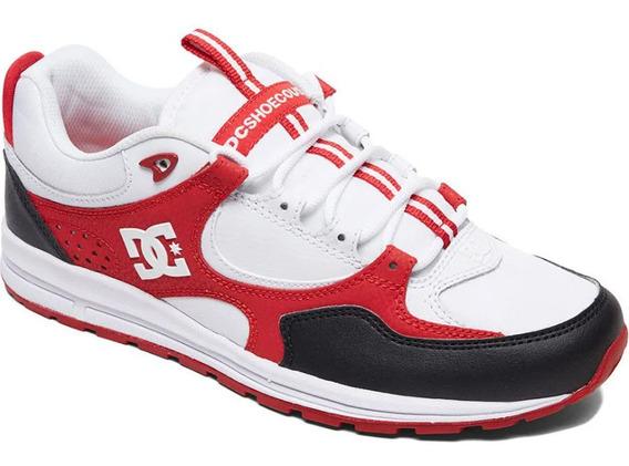 Tênis Dc Kalis Black White Red