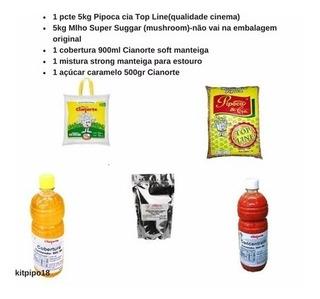 Milhos Gourmet Pipoca Doce E Salgada Açúcar, E Misturas