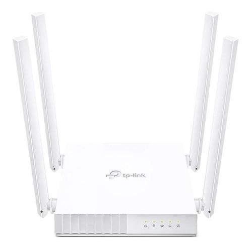 Roteador Wi-fi Tp-link Dual Band Ac750 Archer C21 4 Antenas
