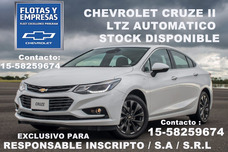 Chevrolet Cruze Automatico 0km Monotributo Inscripto O Final