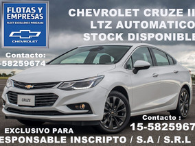 Chevrolet Cruze Automatico 0km Monotributo Inscripto O Final