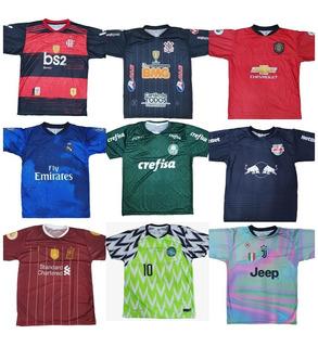 10 Camisas De Time Futebol Europeu E Brasileiros Raynstore®