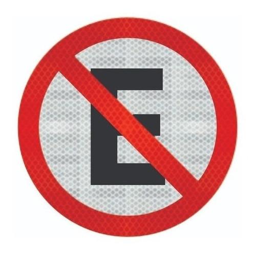 Placas Proibido Estacionar R-6a Ti