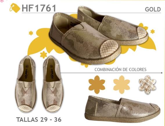 Zapatillas De Niña Y Dama Zapatos Alpargatas