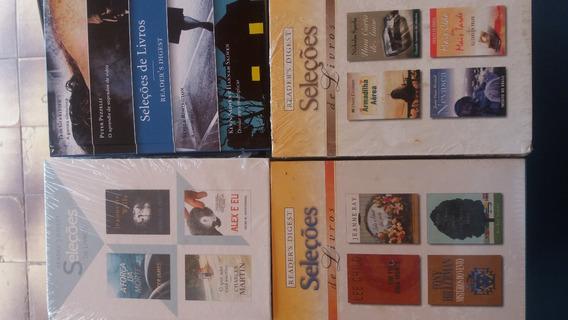 Lote 102-livro Seleções Readers Digest (4títulos Cada) Novo