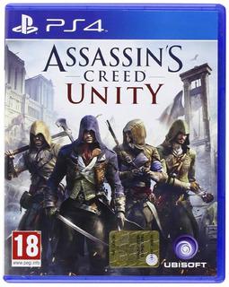 Assassins Creed Unity Ps4. Fisico Nuevo Y Sellado.