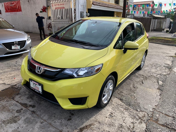 Honda Fit Fun Mt 2015 Verde