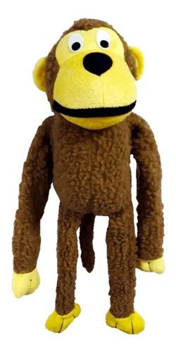 Imagem 1 de 2 de Brinquedo Interativo Macaco Para Pet Cachorro Gato