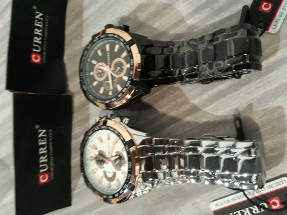 Relógio Curren Masculino Super Luxo Original Pronta Entrega