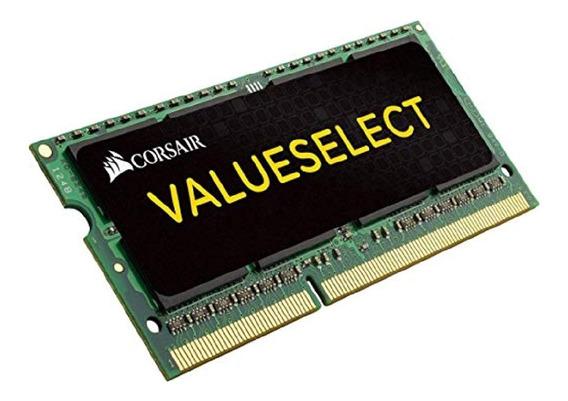 Memoria Ram Sodimm Ddr3 4gb 1600mhz Corsair Valueselect