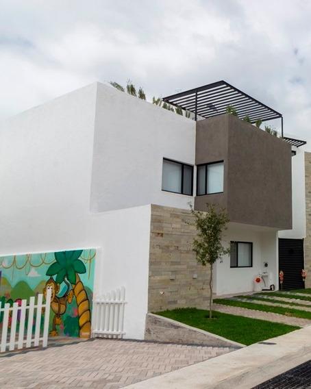 En Venta Casa Amueblada En El Fraccionamiento Entrecielos Zibatá, Querétaro