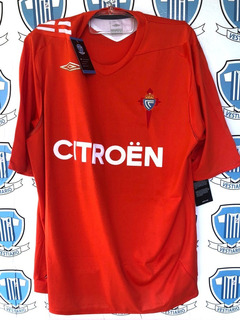 Celta Vigo Espanha G Umbro 2006 Zerada, Mesma Camisa De Jogo