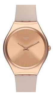Reloj Swatch Mujer Skin Skinrosee Syxg101 Tienda Oficial