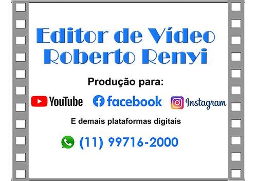 Imagem 1 de 1 de Edição De Vídeo Para Redes Sociais E Midias Digitais