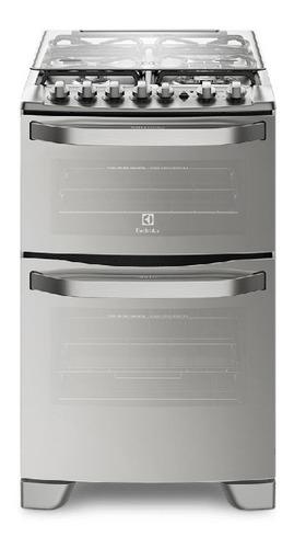 Imagen 1 de 8 de Cocina Electrolux 56dxq Doble Horno Sup Eléctrico Inf Gas Lh