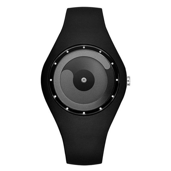 Reloj Hombres Concep Minimalista Flujo Color Griss Unisex.