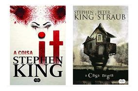 Livro It A Coisa + A Casa Negra - Stephen King - Lacrados