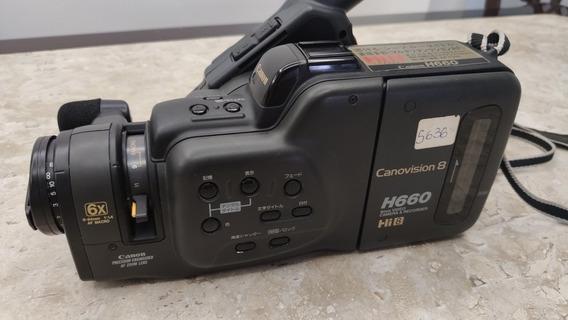 Filmadora Canon H660 Canomvision8
