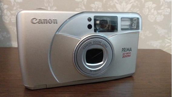 Camera Analógica Canon Prima Bf-800 Zoom 32-56mm