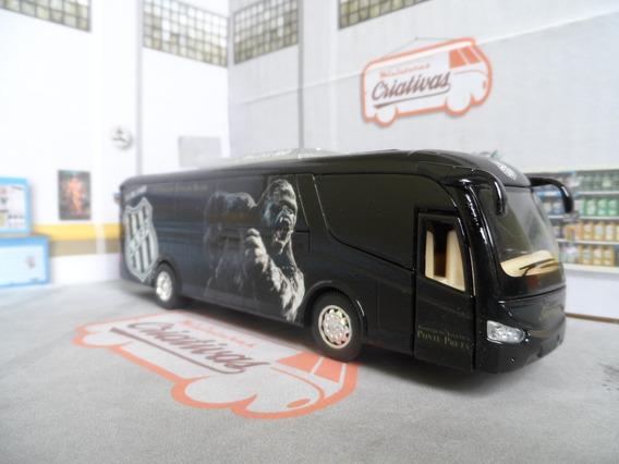 Miniatura Ônibus Da Ponte Preta -em Metal - Time De Futebol