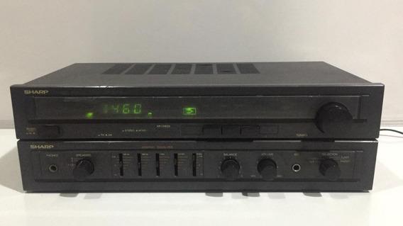 Receiver Amplificador Sharp Tuner Sa-50b (leia A Descrição)