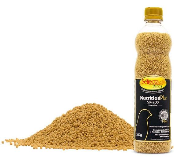 Sellecta Extrusado Nutrition Plus Sr-200 Peq Porte 360 Gr