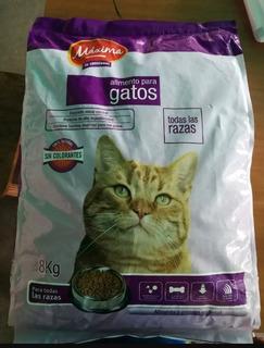 Gatarina Maxima Saco De 8kg En 30 Verdes Gatsy Cat Chow
