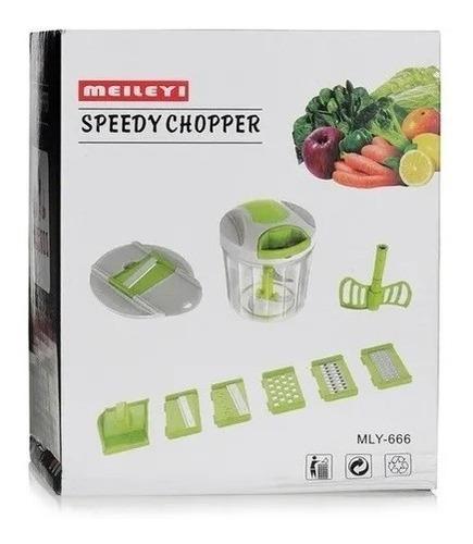 Rallador Pica Verdura Speedy Choper Meileyi