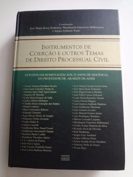 Livro Instrumentos De Coerção E Direito Processual Civil