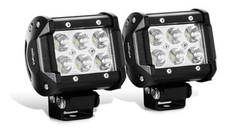 Faros Luces 6 Led Ip67