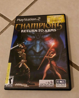 Champions Return To Arms, Play Station 2, Ps2, Champions Ps2