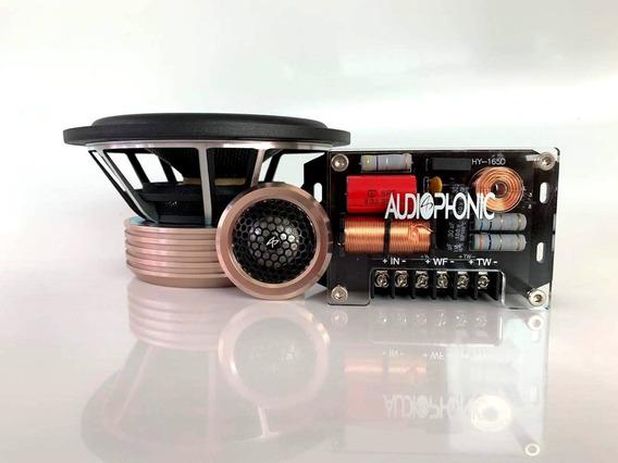 Kit Duas Vias Htk 6.2 Audiophonic 6 - 90wrms