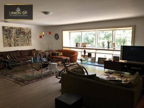 Imagem 1 de 14 de Apartamento Duplex À Venda, 220 M² - Higienópolis - São Paulo/sp - Ad0217
