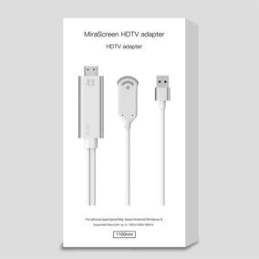 Mirascreen Hdtv Adaptador - Espelha Ios/android Na Sua Tv