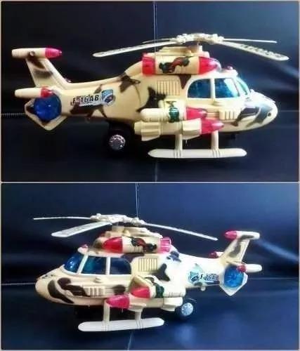 Helicóptero Bate E Volta Sky Pilot Com Som E Luzes Brinquedo