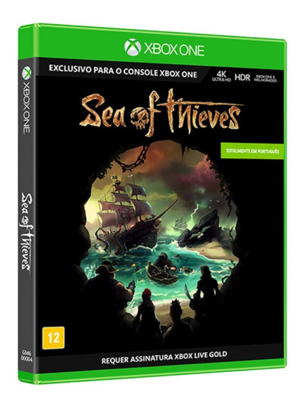 Game Sea Of Thieves - Xbox One - Midia Fisica