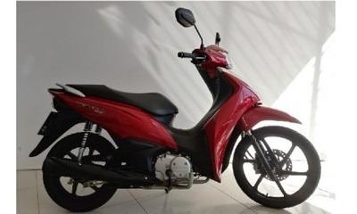 Motocicleta Honda Biz 125 2019 Vermelha