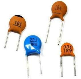 200 Capacitores Ceramico Pf 50v - 04 Pacotes De 50 Pçs
