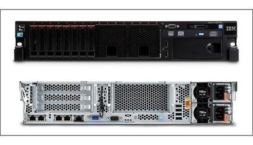 Servidor Xseries X3650 M4 2x 8core / 64gb Ram 6x 300gb