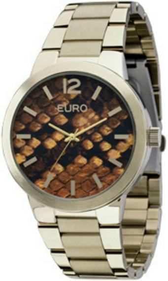 Relógio Euro Com De Desconto! De R$ 300,00 Por R$ 280,00