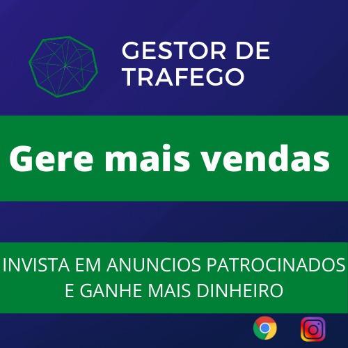 Imagem 1 de 1 de Gestor De Tráfego Pago + Social Mídia
