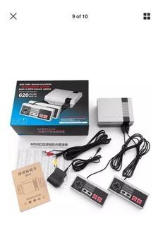 Consola Mini Nintendo Con 620 Juegos