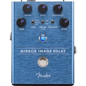 Pedal Fender Mirror Image Delay Guitarra Baixo Violão