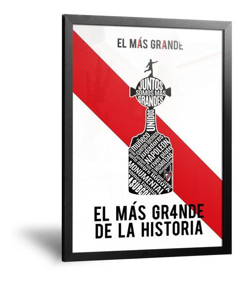 Cuadros Camisetas River Plate Campeón Copa Libertadores 2018