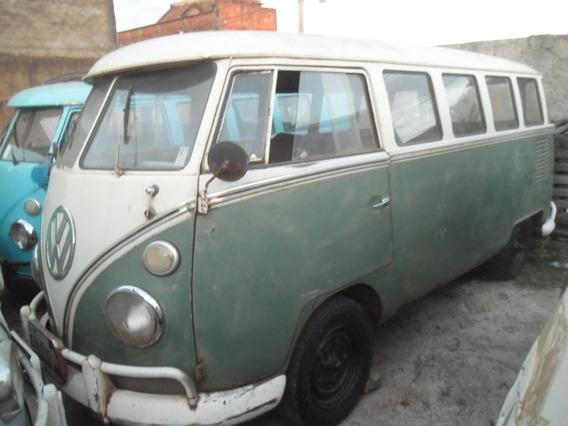 Vw Van Bus Kombi Samba Fase De Reforma De Lataria Docks Ok