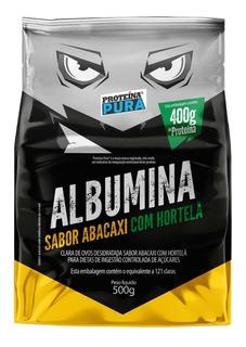 Albumina Refil - 500g Sabores - Proteína Pura