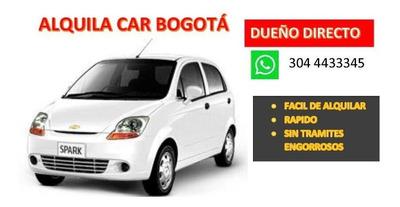 Alquiler De Carros Bogotá-dueños Directos -desde 50.000/dia