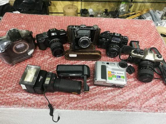 Lote De Câmeras Fotográficas Antigas Pegar Ou Largar!!
