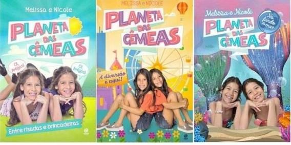 Kit Planeta Das Gemeas (3 Livros)